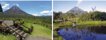 Volcan Arenal à La Fortuna au Costa Rica