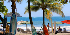 Plage et surf à Manuel Antonio au Costa Rica
