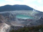 Cratère du volcan Poas au Costa Rica