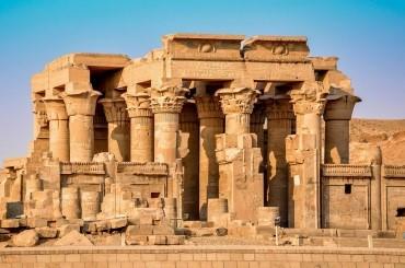 Temple de Kom Ombo dans un voyage en Égypte