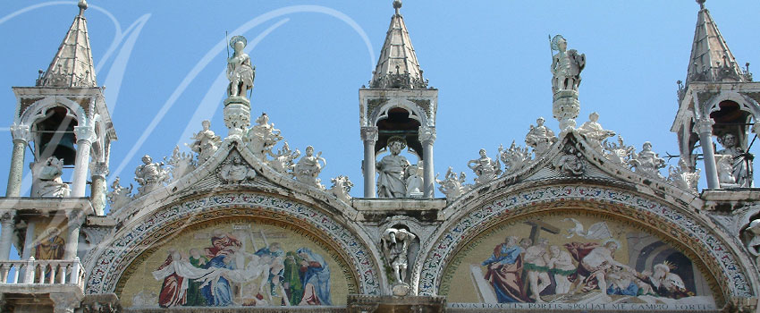 Cathédrale à Venise en Italie