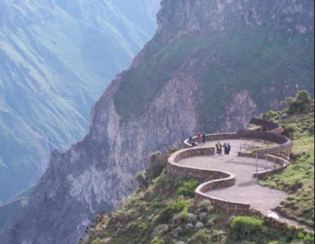 Montagne à Arequipa au Pérou