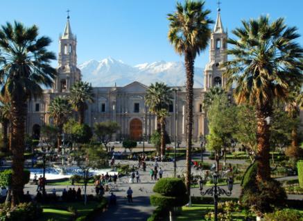 Cathédrale de Cusco au Pérou