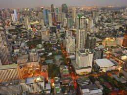 Centre ville de Bangkok en Thailande