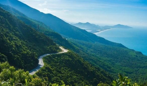 Région montagneuse de Danang en voyage au Vietnam
