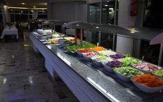 Buffet de l'hôtel Jaz Tour Khalef en Tunisie à Sousse
