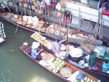 Pirogue en Thailande
