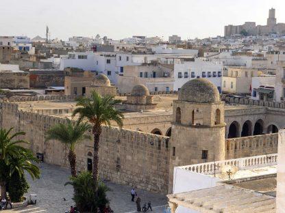 Vue panoramique de Sousse en Tunisie