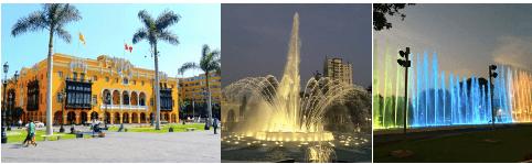 Tour De Ville De Lima Et Des Fontaines Magiques