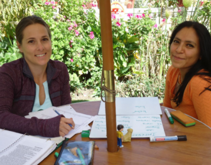 Cours privé dans le programme d'immersion en espagnol à Arequipa au Pérou