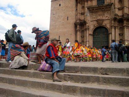 Église dans le programme d'immersion en espagnol à Cusco au Pérou