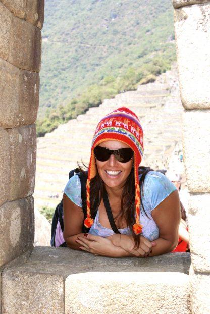 Fille dans le programme d'immersion en espagnol à Cusco au Pérou