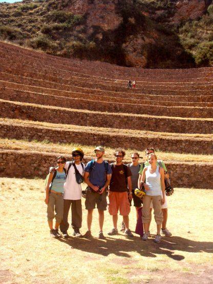 Groupe dans le programme d'immersion en espagnol à Cusco au Pérou