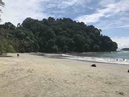 Plage du Parc Manuel Antonio en voyage au Costa Rica