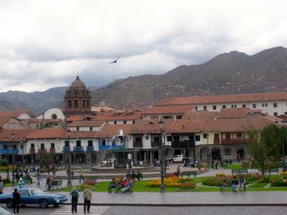 Plaza dans le programme d'immersion en espagnol à Cusco au Pérou