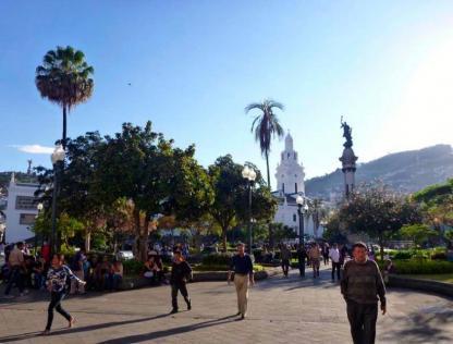 Quito en voyage d'immersion espagnol en Équateur