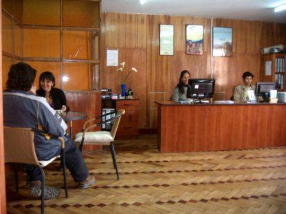 Réception de l'école dans le programme d'immersion en espagnol à Cusco au Pérou