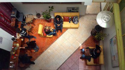 Salon de l'école dans le programme d'immersion en espagnol à Cusco au Pérou