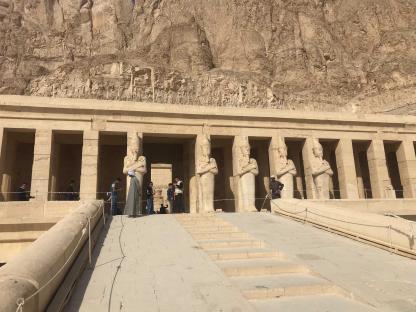 Temple de la reine Hatchepsout à Louxor en Égypte
