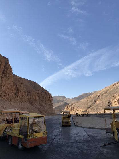 La Vallée des Rois à Louxor dans le circuit en Égypte