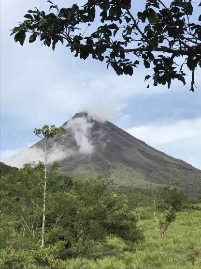 Volcan Arenal à La Fortuna en voyage au Costa Rica