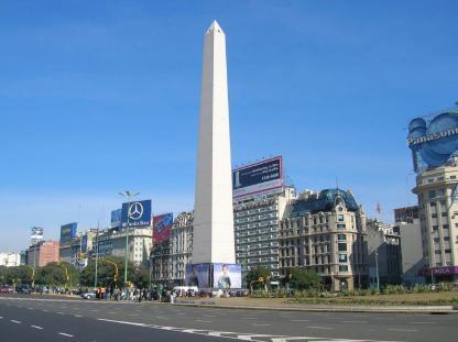 Obélisque de Buenos Aires en Argentine