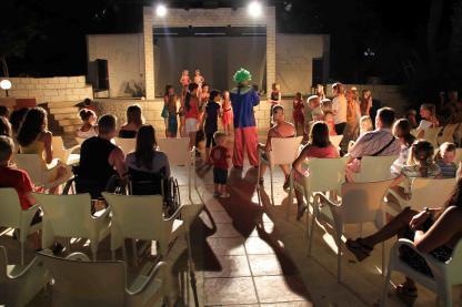 Animation à l'Hôtel Riadh Palms à Sousse en Tunisie