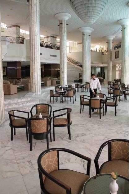 Bar Horizon à l'Hôtel Riadh Palms à Sousse en Tunisie