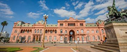 Casa Rosada à Buenos Aires en Argentine