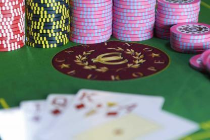 Poker au casino à l'Hôtel Riadh Palms à Sousse en Tunisie