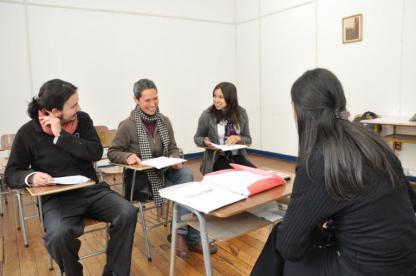 Classe d'espagnol à Buenos Aires en Argentine
