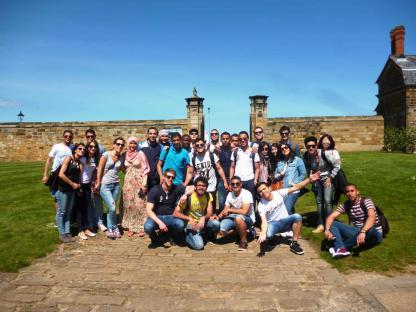 Groupe d'immersion en anglais à Leeds en Angleterre