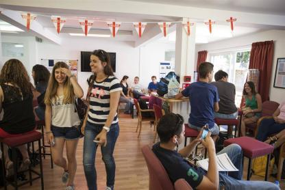 Groupe d'immersion anglaise à Worthing en Angleterre