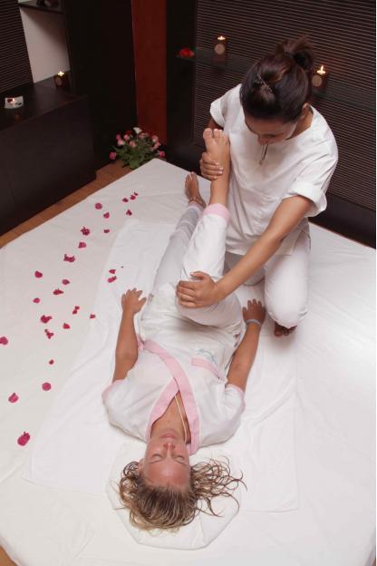 Massage à l'Hôtel Riadh Palms à Sousse en Tunisie