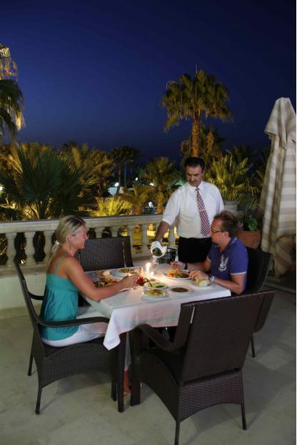 Restaurant Baron à l'Hôtel Riadh Palms à Sousse en Tunisie