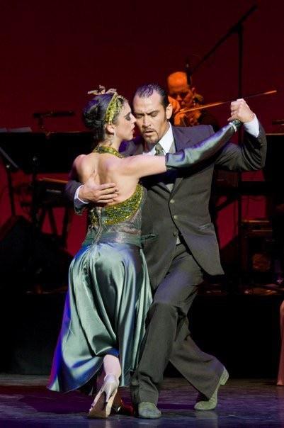 Spectacle de tango à Buenos Aires en Argentine