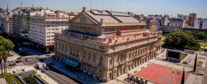 Teatro Colon à Buenos Aires en Argentine
