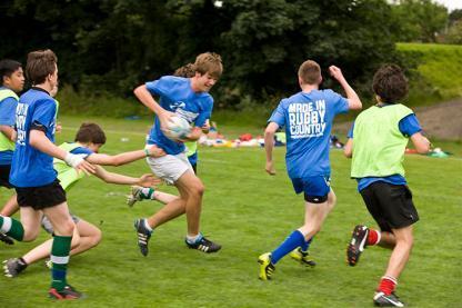 Camp d'été de rugby à Dublin en Irlande