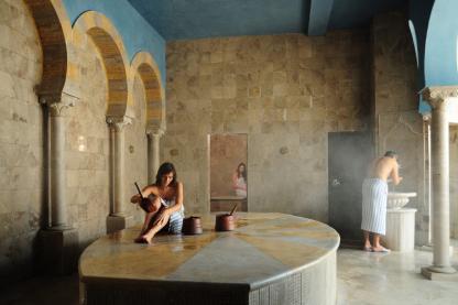 Hammam à l'hôtel Iberostar Kantaoui Bay en Tunisie