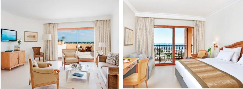 Chambres Et Suites hôtel Movenpick 5* Sousse Tunisie